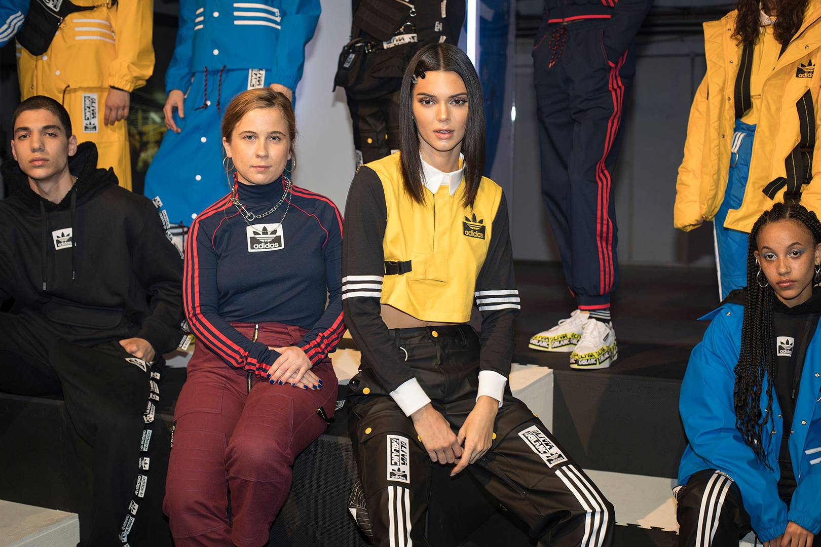 a67128d26704e Behind The Scenes With Kendall Jenner On her Latest Adidas Campaign ...