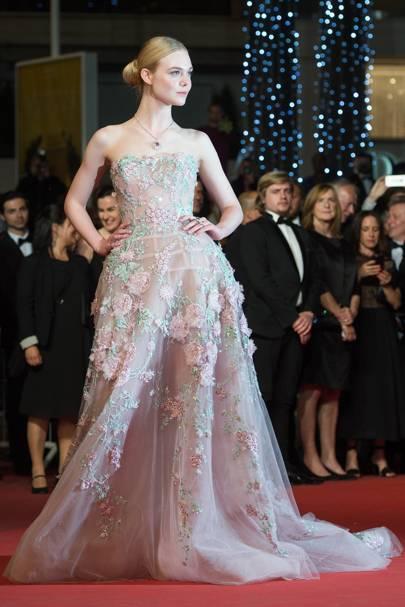 Elle Fanning Prom Dress