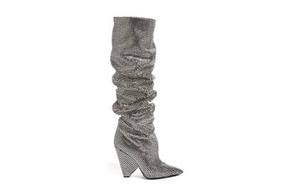 Saint Laurent's sparkling knee-highs