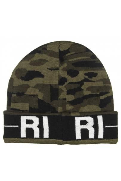 Camouflage Riri beanie, £15