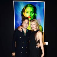 Kate Moss Christie's auction private view, London - September 20 2013