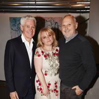 John Frieda, pictured with Nicola Clarke and Sam McKnight