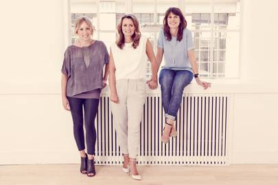 Liz Houghton, Jane Rawlings and Lisa Agar-Rea