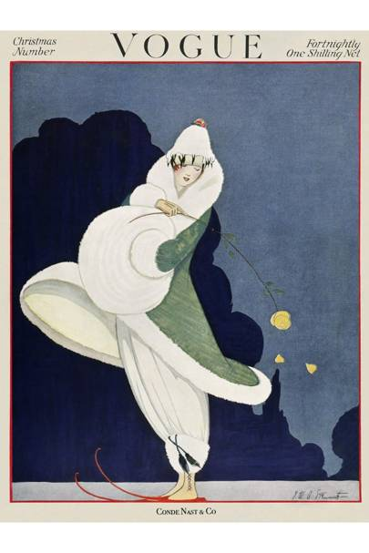 Vogue Cover, Late December 1916