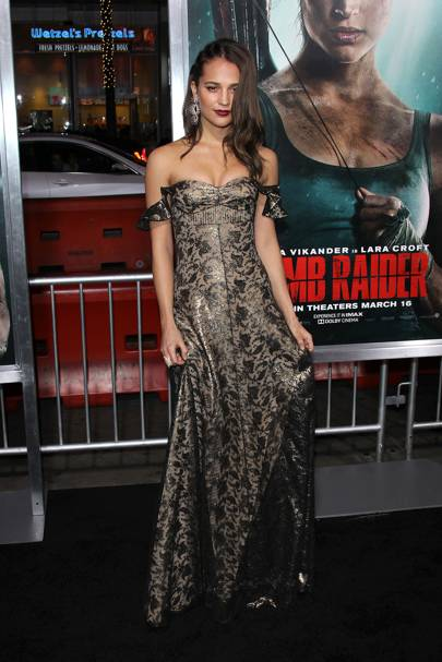 'Tomb Raider' Premiere, Los Angeles - March 12 2018