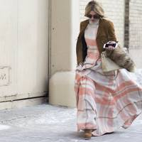 The Winter Boho Dress