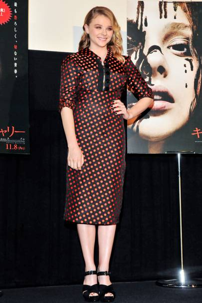 Carrie press conference, Japan – October 23 2013