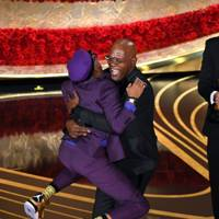 Spike Lee gave a passionate, political speech