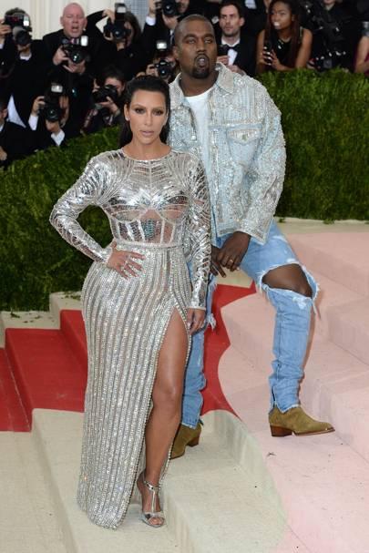 Kim Kardashian Wes & Kanye West