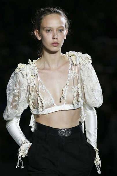 Your Next Crop Top Should Be Antique-Inspired