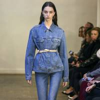 3. Belt your denim jacket