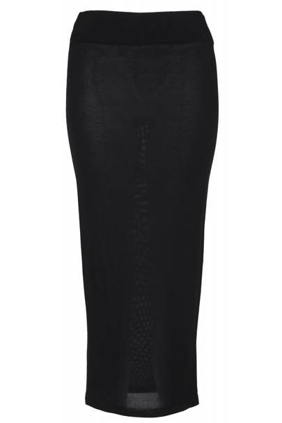 Black maxi skirt, £40