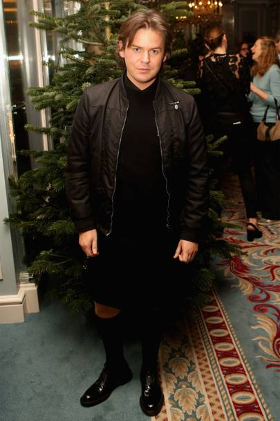 Christopher Kane x MyTheresa.com Christmas Cocktails, London - December 6 2016.