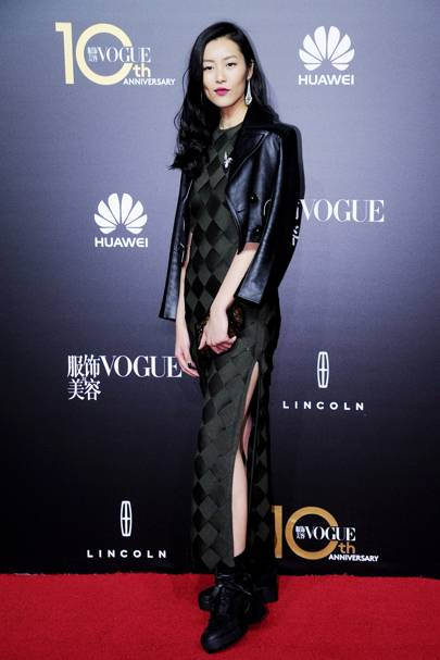 Vogue China's 10th anniversary celebration, Shanghai - October 27 2015