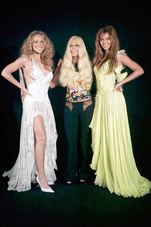 661accc3e18 Donatella Versace Style   Fashion pictures and History