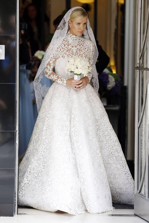 Most Extravagant Celebrity Weddings British Vogue