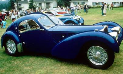 Bugatti - Type 57SC Atlantic Coupe