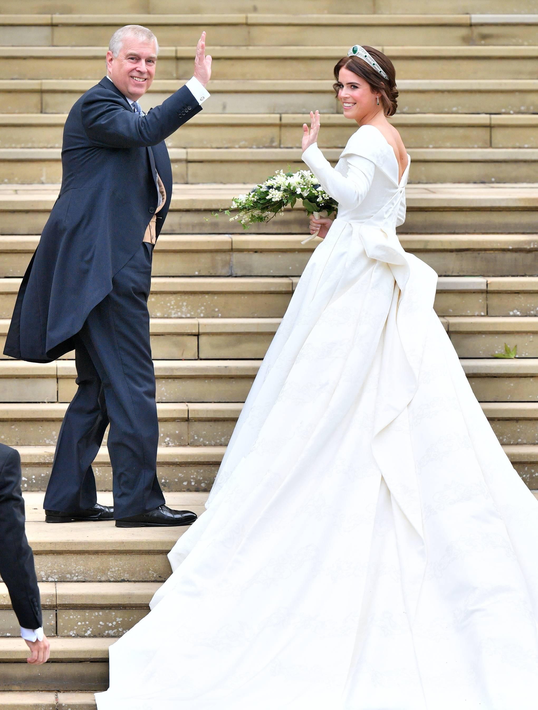 Princess Eugenie Chose Peter Pilotto For Her Wedding Dress British Vogue