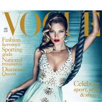 British Vogue, June 2012