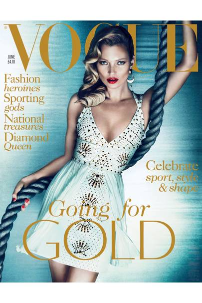 Vogue cover, June 2012
