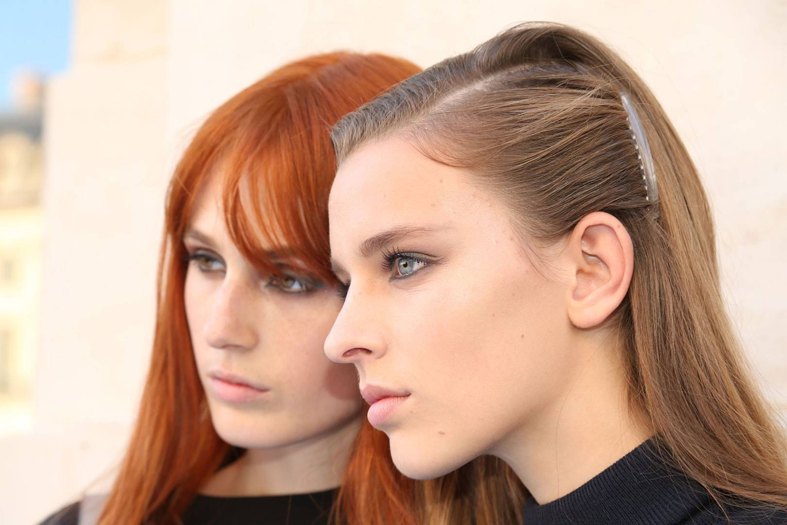 Spring Summer 2017 Backstage Beauty Looks British Vogue Jill Lip Matte 13 Purplish Plum