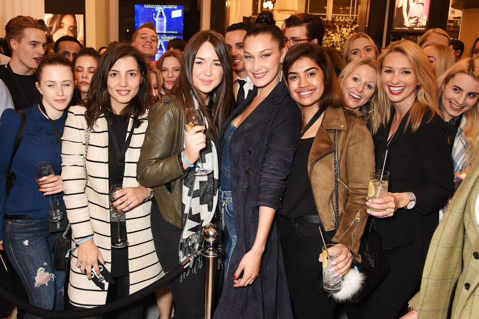 5812e6a3f5d Bella Hadid Beauty Interview | British Vogue