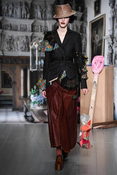 9a8610652b1 Matty Bovan Autumn Winter 2019 Ready-To-Wear show report