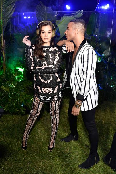 Balmain celebrates opening of first Los Angeles Boutique, Beverly Hills - July 20 2017