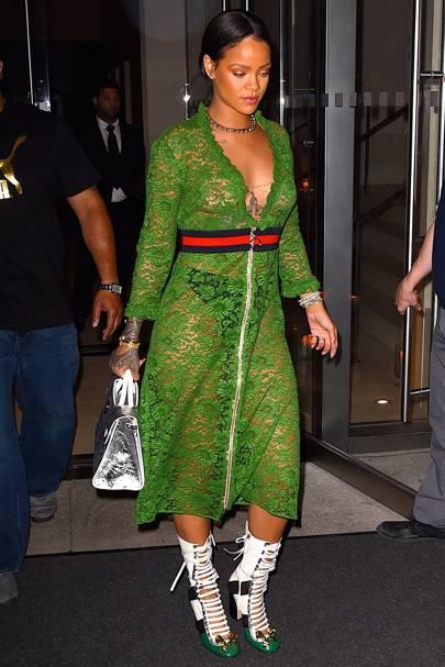 Rihanna 39 S Fashion Collaborations Campaigns Dior River Island Balmain Armani British Vogue