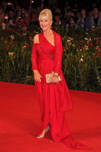 Helen Mirren at the 2010 Venice Film Festival