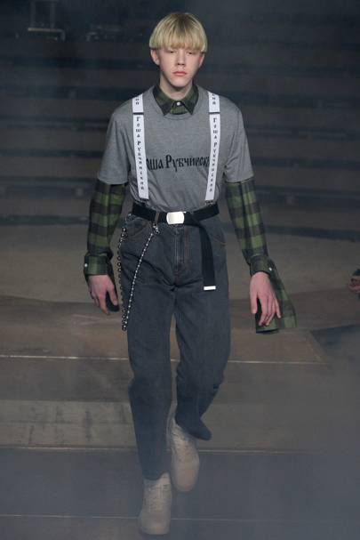 2569895fba3 Gosha Rubchinskiy Autumn Winter 2016 Menswear show report