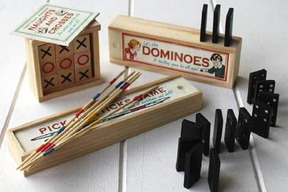 Dominoes, Pick-Up Sticks & Noughts and Crosses