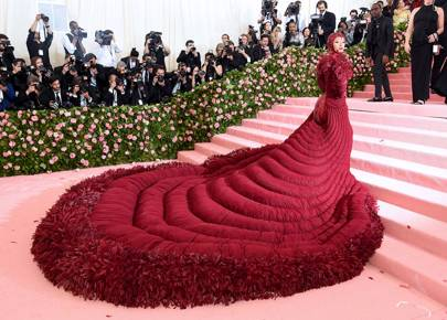Cardi B Wore The Evening's Most Memeable Gown