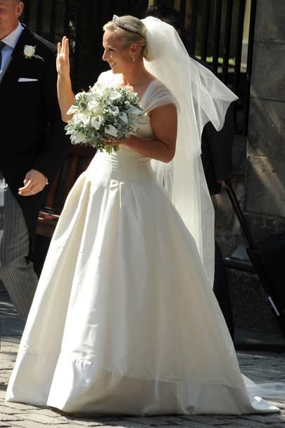 Zara Phillips Wedding Dress Pictures & Photos | British Vogue