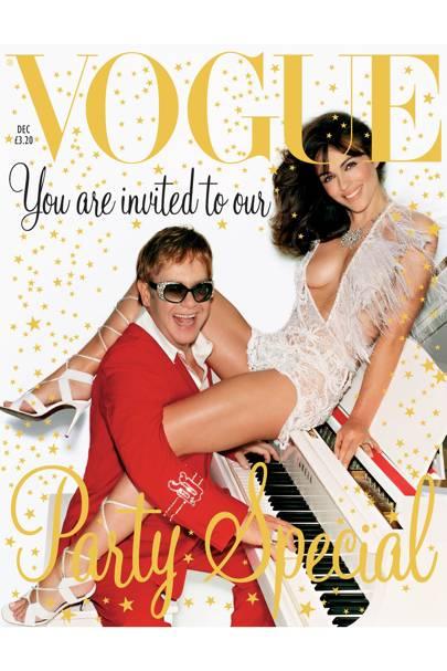 Vogue Cover, December 2002