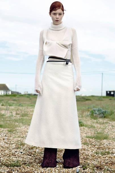 Knee-Length Evening Dress