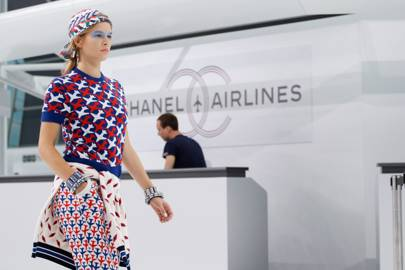 Chanel's Airport Lounge