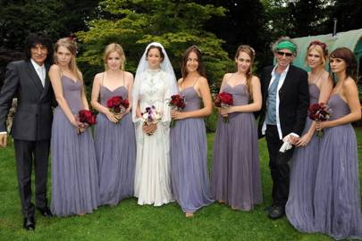 Leah Wood Embled A Whole Legion Of Rock Royalty For Her 2008 Wedding Including Vogue Cover Georgia May Jagger And S Star Jemima Kirke