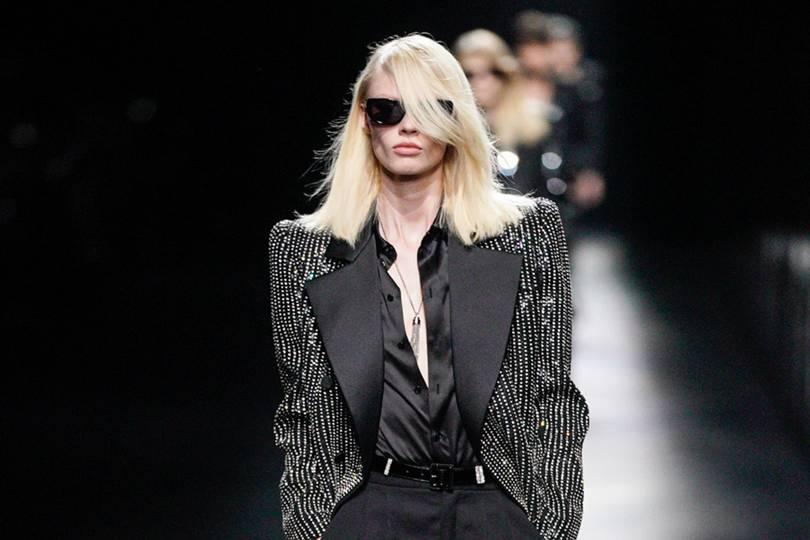 62080f6fefe Saint Laurent Autumn/Winter 2019 Ready-To-Wear show report | British Vogue