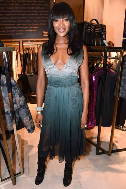 Naomi Campbell's Fashion For Relief Pop-Up Shop Launch, London - November 27 2014