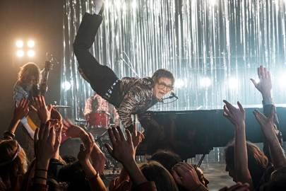 Rocketman's Costumes Take Elton John's Stagewear Into A New Realm Of Fantasy