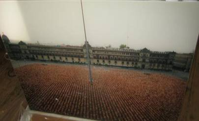 Spencer Tunick: Mexico City 2 2007