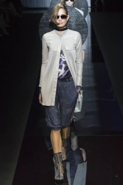 47a2ac94b269 Giorgio Armani Spring Summer 2017 Ready-To-Wear show report   British Vogue