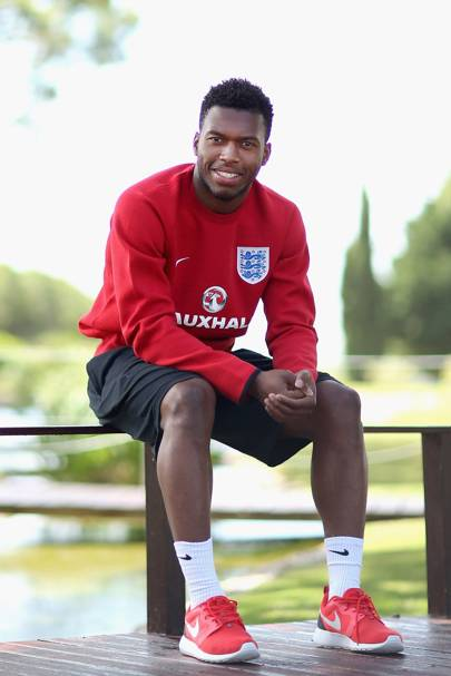 Daniel Sturridge, English striker
