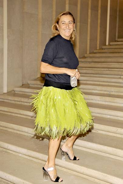 Miuccia Prada Biography, Quotes   Facts   British Vogue 103781f9b8