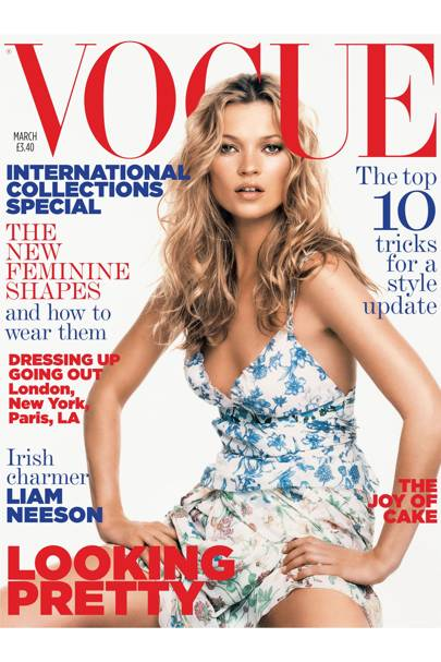 Vogue Cover, March 2005