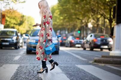 The accessory: Block heel Mary Janes
