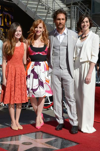 Hollywood Walk of Fame ceremony, LA - November 17 2014
