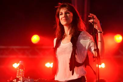 Charlotte Gainsbourg @ Field Day