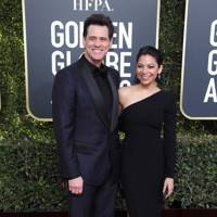 Jim Carrey and Ginger Gonzaga